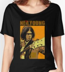 Neil young design Women's Relaxed Fit T-Shirt