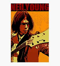 Neil young design Photographic Print