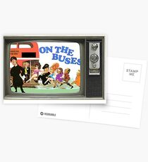 On the buses Postcards