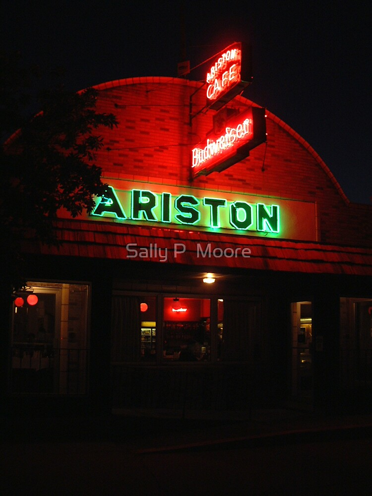 Ariston Cafe Route 66 Litchfield Illinois by Sally P  Moore
