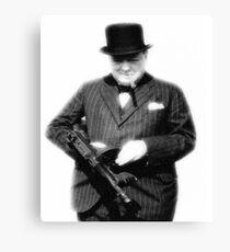 Churchill. Canvas Print