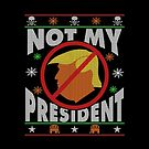 Trump Ugly Christmas Tee by EthosWear
