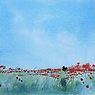 Where Poppies Grow (2)  by Pat  Elliott
