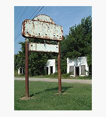 The Avon Motel on Historic Route 66 Photographic Print