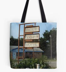 The Blue Top Motel  Tote Bag