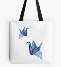 galaxy paper cranes Tote Bag