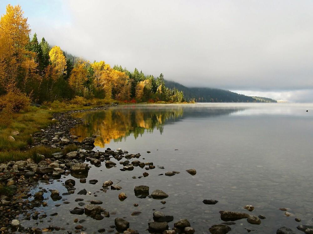 Autumn Lake by Corey Bigler
