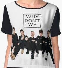 when do we - the famous social group Women's Chiffon Top