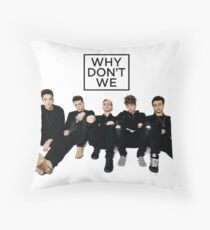 when do we - the famous social group Throw Pillow