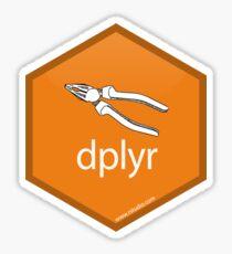 dplyr -- tidyverse library Sticker