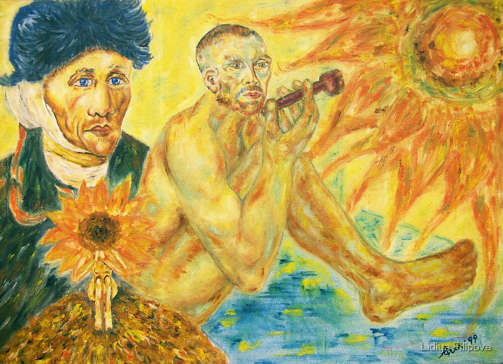 To Van Gogh - December Sun by Lidiya