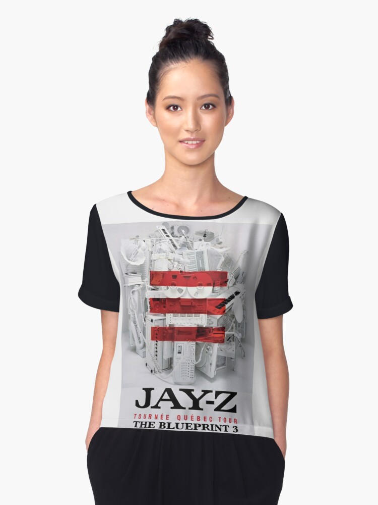 Jay z the blueprint 3 tour 2017 2018 graphic t shirt dress by jay z the blueprint 3 tour 2017 2018 womens chiffon top malvernweather Choice Image
