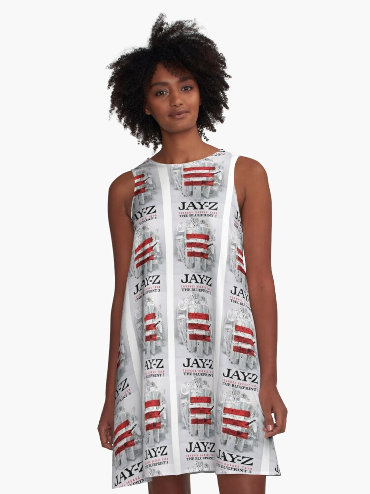Jay z the blueprint 3 tour 2017 2018 a line dress by resshaaprina jay z the blueprint 3 tour 2017 2018 a line dress front malvernweather Choice Image