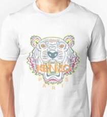 Kenzo Paris Tiger Logo Design T-Shirt