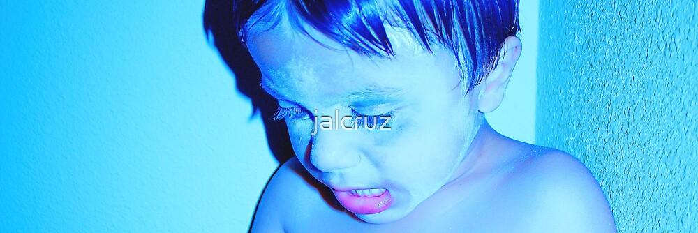 Inside My Blue Light Of Life by jalcruz