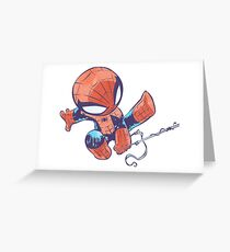 Spider baby Greeting Card