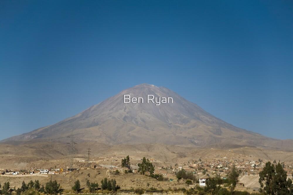 El Misti, Peru by Ben Ryan