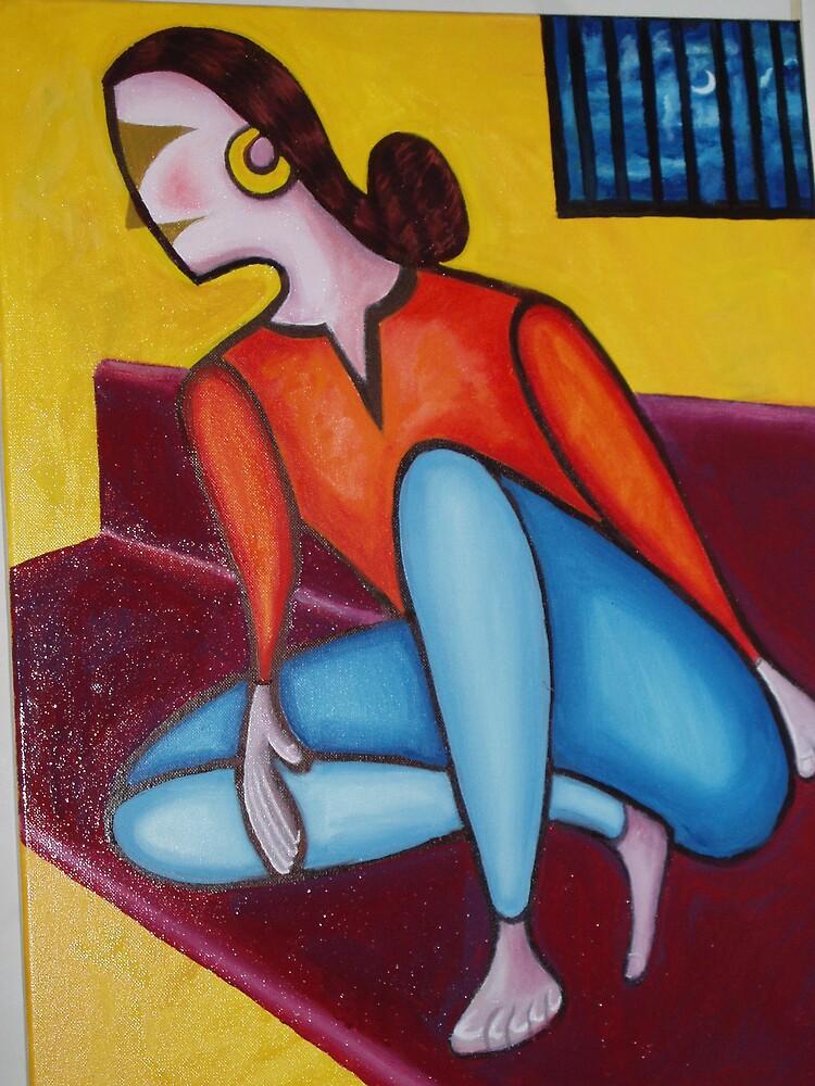 Matured Lady  by Suhel Rashid Shaikh