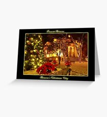 arizonas christmas city prescott arizona greeting card