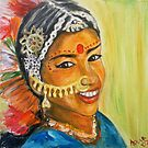 Indian Girl by Lidiya