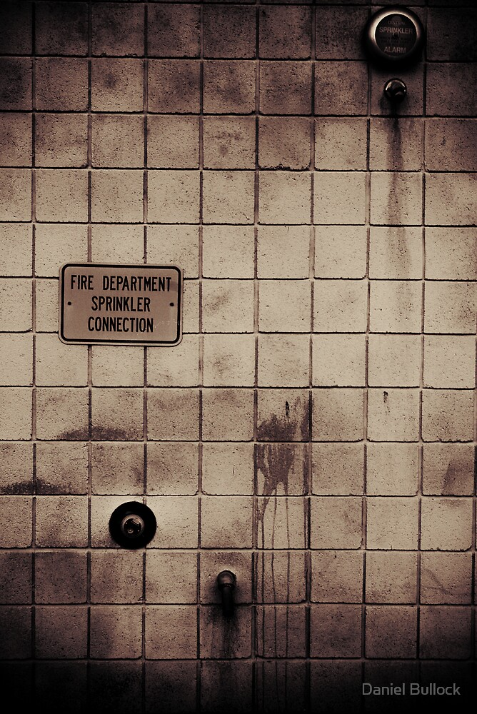 Grunge Wall by Daniel Bullock