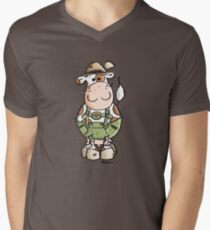 Bavarian Cow Cartoon - Cows - Octoberfest - Gift T-Shirt