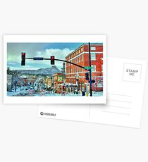 After A Snowstorm In Prescott Arizona  Postcards