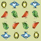 Bird Pattern by Cherie Roe Dirksen