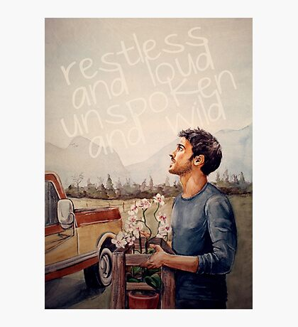 Restless and Loud Photographic Print
