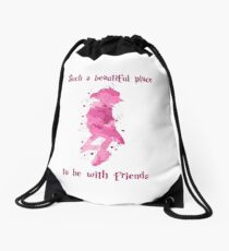 Such a beautiful place - Dobby Drawstring Bag
