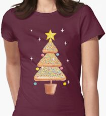 Fairy Christmas - Fairy Bread - Pink Women's Fitted T-Shirt