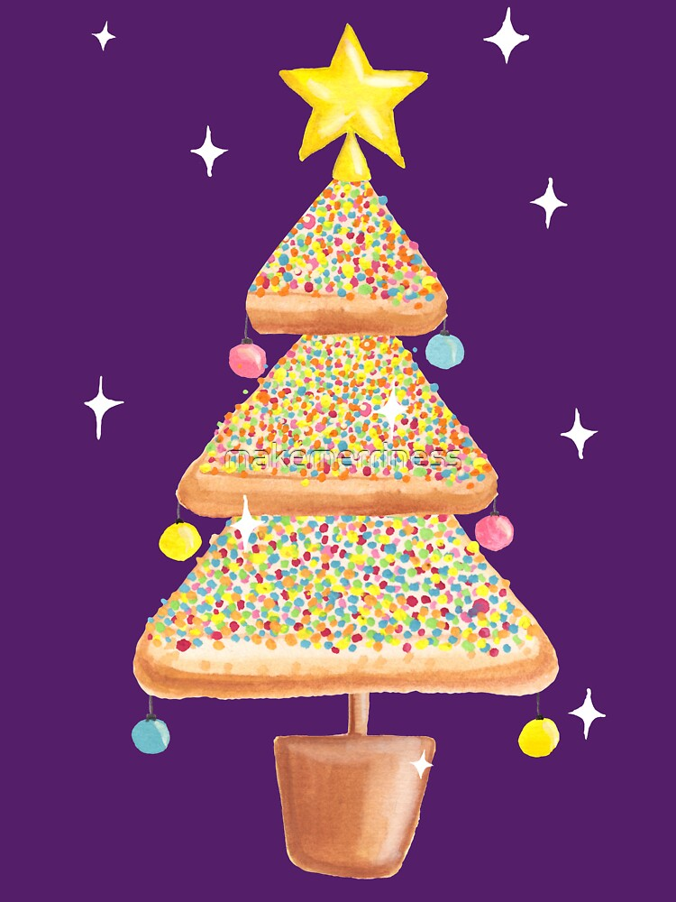 Fairy Christmas - Fairy Bread - Pink by makemerriness