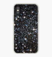 Vinilo o funda para iPhone Glitter Galaxy