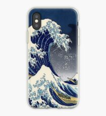 Grande Vague: Nuit Kanagawa Coque et skin iPhone