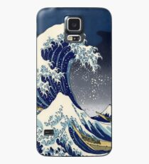 Great Wave: Kanagawa Night Case/Skin for Samsung Galaxy