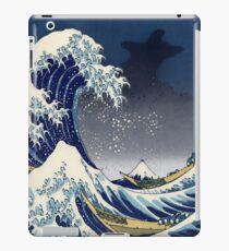 Great Wave: Kanagawa Night iPad Case/Skin