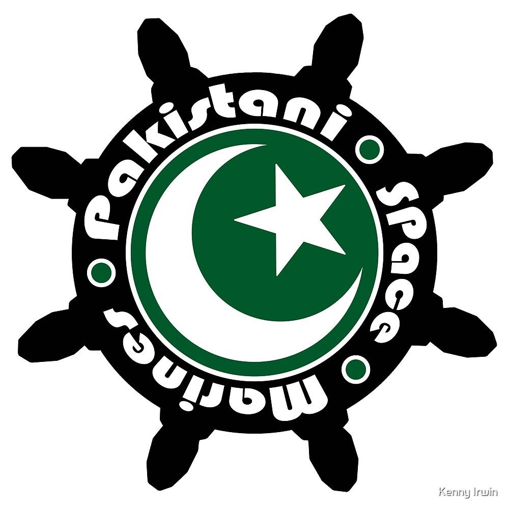 Pakistani Space Marines Badge by Kenny Irwin