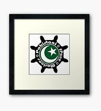 Pakistani Space Marines Badge Framed Print