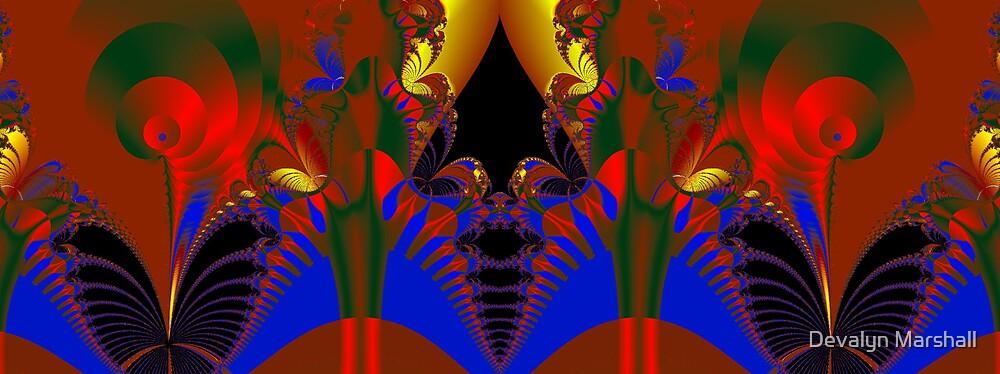 Alien Foliage by Devalyn Marshall