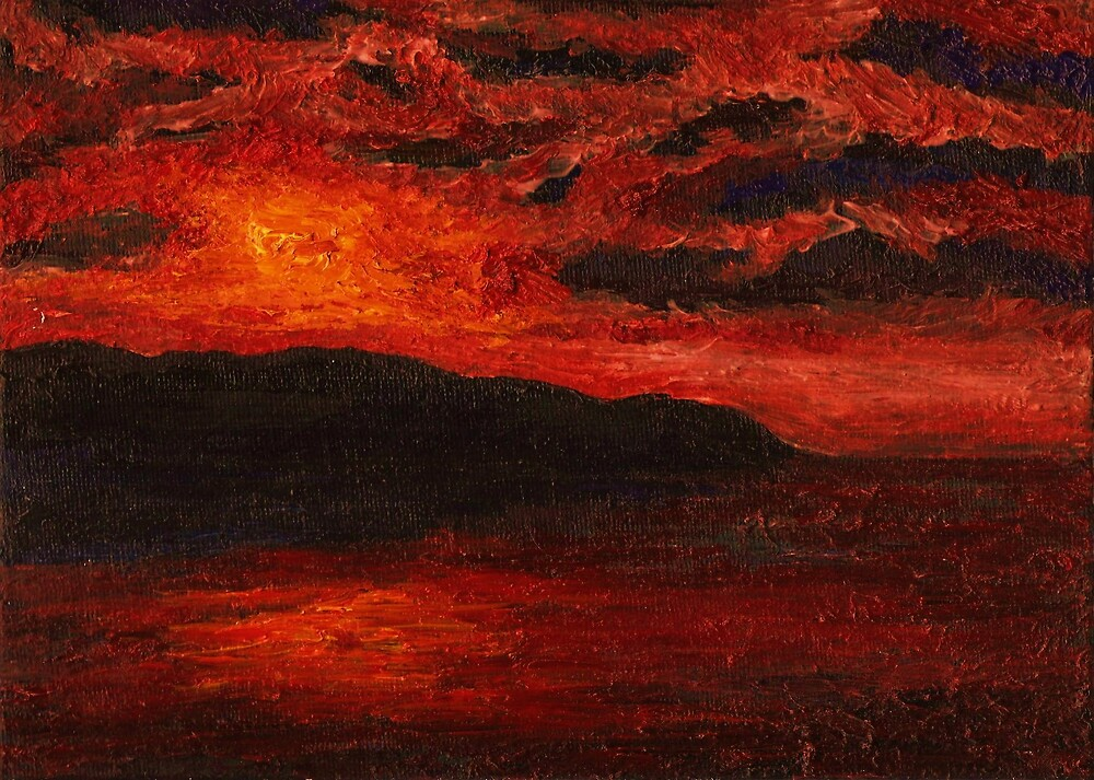 Red Sky at Night by Matthew Rogers
