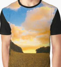 Sunset over Dunes Graphic T-Shirt
