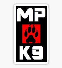 MP K9 Sticker