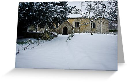 Fox Tracks to Church by Sue Martin