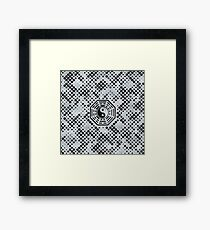 Yin and Yang Feng shui  bagua  Framed Print