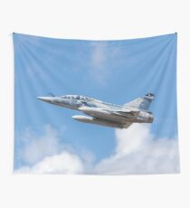 Dassault Mirage 2000B taking off Wall Tapestry