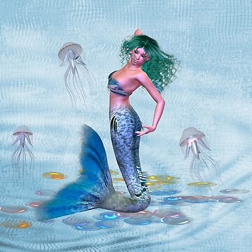 March .. Mermaid by LoneAngel