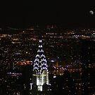 New York at Night by AnnDixon