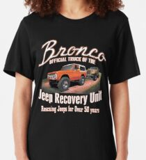 Jeep Recovery Unit - Ford Bronco 4x4 Slim Fit T-Shirt