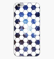 Vinilo o funda para iPhone Fútbol Galaxy Blue