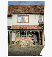 English Village Tea Rooms Poster